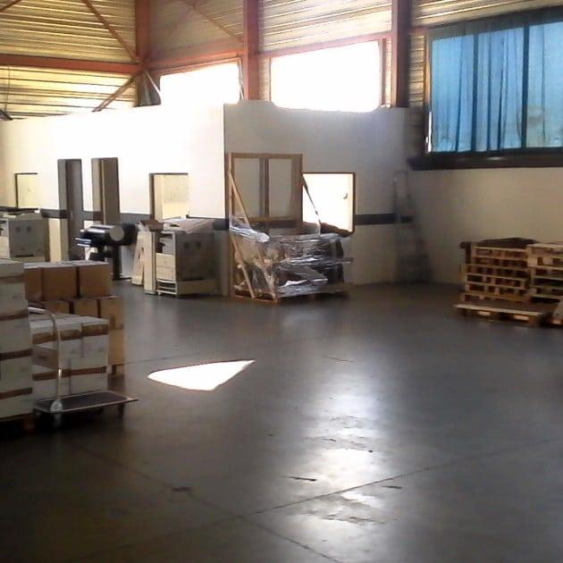 Avancement des travaux de réorganisation de l'atelier